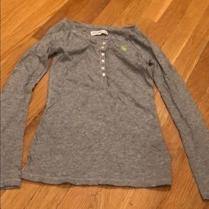 Abercrombie Girls Henley Top